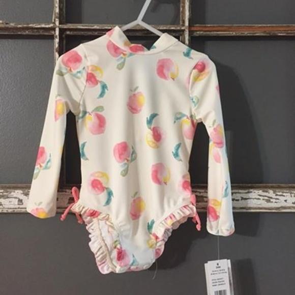 NWT-Infants 3 Piece Jessica Simpson Floral Outfit-Shirt//Pants//Hat-.-Rack2